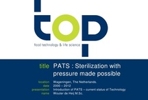 PATS (HPP Sterilisation) / PATS (pressure assisted thermal sterilization) is a new food sterilization process that utilizes high pressure to produce temperatures that ensure the production of commercially sterile low-acid food products while significantly improving food quality attributes. More information can be found on: http://en.topwiki.nl/index.php/PATS