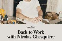 Nicolas Ghesquière Archive / by SAMSON CHOI