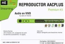 Reproductores Flash Player AACPlus - Premiun / Reproductores Flash Player AACPlus para Streaming AUDIO EN VIVO HE-AACplus v2 - Gratis solo Clientes