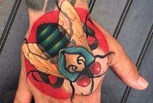 One More Tattoo / Tattoo Piercing Body Art grafik design Artists Miguel Ameliach , Richard Sorensen,isa santana, peter klegues, simone Sbrilli,