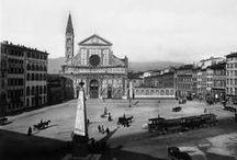 Firenze in Biaco-Nero / firenze antica