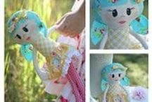 ANZ Patterns - Toy and stuffie Patterns / Australian and New Zealand sewing pattern designers who make patterns for toys and stuffed animals