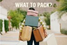 Packing Tips / Travel packing tips to make packing a little easier!