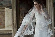 Bridal Gowns 2016 / Abiti sposa collezioni 2016. La tendenza per il prossimo anno è il minimal chic. Molta seta mikado, pizzo e corsetti lavorati