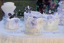 Confettate & Sweet Corner / Confettate in tema con il matrimonio. Tanti gusti dalle creme alla frutta, con i migliori confetti italiani.