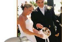 Wedding Theme Butterfly / Idee originali per un matrimonio in tema butterfly. Dalle bomboniere ai centritavola.....dulcis in fundo, si liberano le farfalle come gesto portafortuna, mentre si esprimono  desideri.