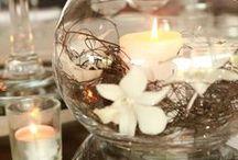 Centerpiece & Wedding / Centrotavola per ogni occasione, tante idee ed  immagini per ispirare voi sposi.