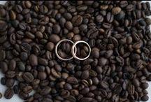 Wedding Theme Coffee / Matrimonio a tema caffè dalle partecipazioni alle bomboniere ai centritavola