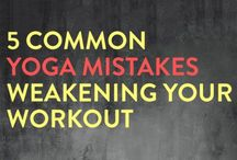 YOGA's common mistakes