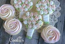 Wedding Cookies / Deliziosi biscotti creati in tema con le nozze.