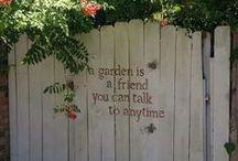 Yesteryear garden