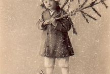 Vintage christmas pics and cards