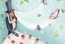Cards - Illustrazioni / Immagini per ispirare, idee ed utilizzi. Cards Wedding