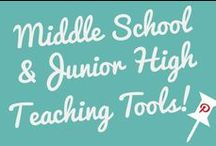 Middle School/Junior High Teaching Tools / Middle School/Junior High isn't easy for anybody. Teachers included ;-)  Feel free to use this board to spread the word about resources that you'd love to share with other teachers.  *Friendly Reminder: Please don't post more than three pins at a time.*