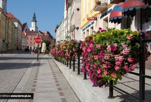Atech - flowers in our cities / Hnaging flower pots,flower pots for city lamps, flower boxes, urban decoration