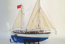Ahşap Model Gemiler