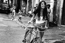A la bicyclette