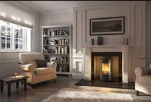 For the home / The range of wood burning and pellet burning stoves from RIka, Hwam and Wiking.   Also the range of domestic sized biomass boilers under 45kW.