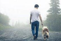 Men&dog