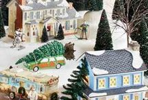 Christmas Vacation Village / Have your own Christmas Vacation Village with these pieces from Department 56!