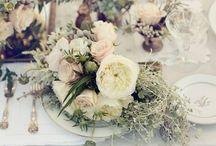 . a spring wedding .