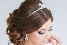 Penteados para festas / Inspirações para noivas, debutantes e festeiras! www.ixigirl.com ❤️