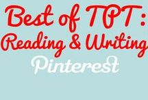 Best of Teachers Pay: Reading & Writing / Your one stop board featuring the best reading and writing content from Teachers Pay! Pinners: Post your three strongest products weekly. Interested in pinning? Email mr.blwatts@gmail to be added.