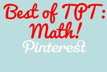 Best of Teachers Pay: Math / Your one stop board featuring the best math content from Teachers Pay! Pinners: Post your three strongest products weekly. Interested pinning? Email mr.blwatts@gmail to be added.