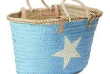 french Baskets Painted