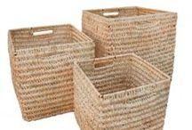 storage wicker baskets
