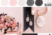 Miss Dior - blush/pink and black