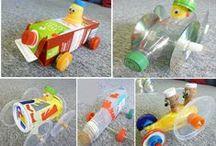 Basteln mit Abfall / Recycling Art