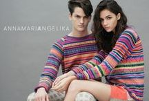 ANNAMARIAANGELIKA ethical knitwear & fashion / Welcome to Annamariaangelika, the first Slow Fashion label that sends men and women on a journey of cultural discovery.