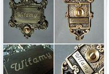 Mosiężne przyciski do dzwonków - Brass Bell Push / Przyciski do dzwonków wykonane z mosiądzu