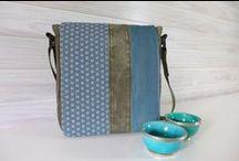 edda.b. Taschen / bags / Taschen aus recycelten Materialien