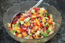 Salate / Salate ... Futter.... lecker