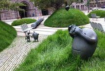 Vihreä kaupunki / Maailmalla nähtyä: mielenkiintoisia ja onnistuneita ratkaisuja tuoda luontoa kivikaupunkiin