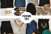Packing Tips / Packing tips for a quarter, semester or year abroad. You're not on vacation; you're living in a foreign country abroad. What to tuck into your toiletry bag versus toss into your suitcase. One suitcase or three? Backpack or no? Here's how to pack for all your study adventures and travel. Don't forget your journal - you're gonna want to record these moments.