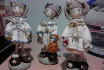 le mie creazioni / creazioni in porcellana a freddo