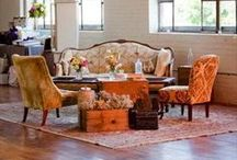 Loungin' / Specialty seating and furniture to give your wedding that crucial intimate, residential feel.