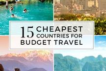 Budget Travel / Be financially savvy while studying abroad and attending a foreign university. Currency tips, how to get wallet-saving scholarships, what do to with your credit and debit cards. How to save money at hostels, find cheap food, and afford your amazing adventure. Learn where to cut expenses, find student discounts and protect your budget. These are the practical and inspirational tips you need to master your time abroad and do all the things you want to do.