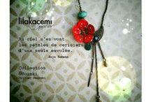 """Osozaki"" Lilakacemi Paris / accessoires, bijoux"
