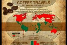 COFFEE MAP ☕ KÁVOVÉ MAPY ☕ / Mapy nejznámějších a nejplodnějších míst pro pěstování kávy. Plantážní káva. Největší světoví producenti kávy: Brazílie, Vietnam, Kolumbie, Indonésie, Etiopie, Indie, Mexiko, Guatemala, Uganda, Pobřeží slonoviny. Významní pěstitelé kávy špičkové kvality: Jamajka, Kostarika, Portoriko, Nikaragua, Keňa, Venezuela, Tanzanie, Jemen, Havaj. Názvy kávy vznikají z nazvu plantáže nebo oblasti, kde je zemědělci vypěstovali. Každá odrůda má svoji zvláštní chuť a vůni. http://www.coffeeorigins.net/