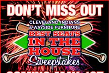 """Best seats in the house. / There are still plenty of home games left in the 2014 season! Enter to win """"The Best Seats in the House"""" for the Cleveland Browns!"""