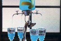 ABSINT ✿ ABSINTHE ✿ ABSINTH ✿ ABSINTHIUM / Absint (též absinth; francouzsky absinthe; z latinského absinthium a řeckého ἀψίνθιον apsinthion, pelyněk) je tvrdý alkoholický nápoj, který se vyrábí z pelyňku, anýzu a fenyklu. Má typickou zelenožlutou barvu a voní po lékořici. Pro vysoký obsah alkoholu je ve většině zemí jeho výroba zakázána, a to také pro toxické účinky pelyňku. Absinthe bottles • Assenzio • Artemisia • Absinthium. Absintech, Absintům, Absintů, Absinty, Absintem, Absinte, Absintu. Hořký silný likér.
