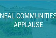 NEW Neal Communities: Applause / Neal Communities has joined the Waterset Builder list and has opened a new Model Home in our newest phase!