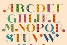 Alphabets / by Gloria Roubal