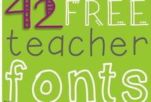 Fonts and Clipart / Fonts and clipart to make all of your ideas come alive! These are some of my favorites.