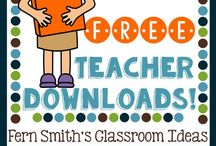 Teacher Freebies / Free teaching resources for your classroom.