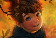 Character Ideas: Illustrated Children / by Enola Holmes